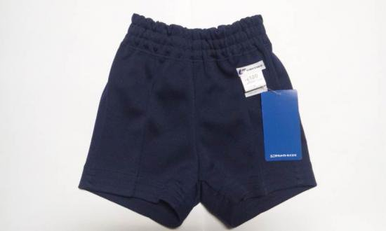 体操服ショートパンツ 110~120(紺) 体操ズボン短パン ユニチカメイト【2枚までメール便対応】