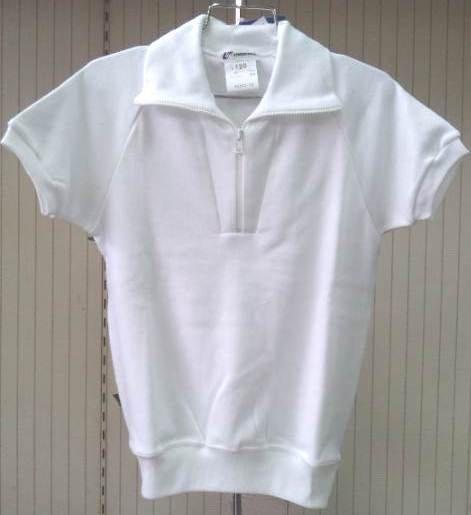ユニチカ スクールウェア半袖体操服 白 130~150【2枚までメール便対応】