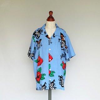 """Aloha Blossom """" Tehu Tehu """" Kids Aloha Shirts / Sax"""