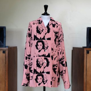"Aloha Blossom "" Venus "" Long Sleeve / Salmon Pink"