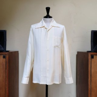 "Aloha Blossom "" Foundation "" Long Sleeve / Off White"