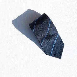 "Solemarley "" Rejimental Tie "" dark navy × blue"