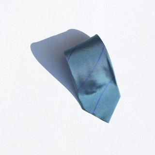"Solemarley "" Rejimental Tie "" green × navy"