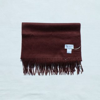 "Johnstons "" Cashmere Stole 190×35  "" Chocolate"