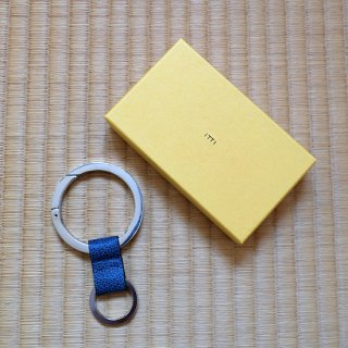 "ITTI "" Cristy Ring Ring"" 藍桟革"