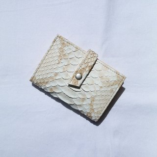 "ERA "" Natural Python Strap Card Case "" Natural"