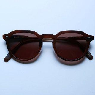 "Buddy Optical "" Sorbonne Sunglasses "" Oak / Brown Lens"