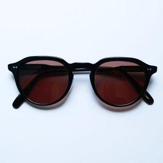"Buddy Optical "" Sorbonne Sunglasses "" Black / Brown Lens"