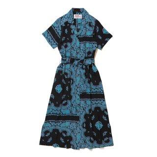 "Aloha Blossom "" Hisuikazura "" Shirt Dress"