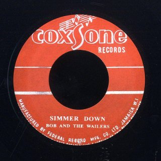 """7inch """"The Wailers """" Simmer Down /How Many Times"""