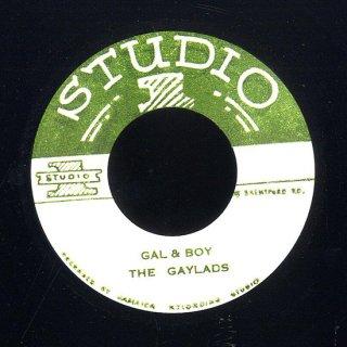 "7inch ""The Gaylads ""Gal & Boy / ""Roland Alphonso""20-75"