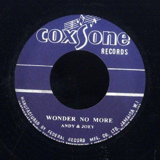 """7inch """"Andy & Joey """"Wonder No More / """"Don D & Roland Al""""Heaven & Earth"""