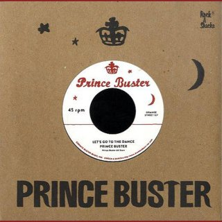 """7inch """"Prince Buster """"Let's Go To The Dance  / """"Righteous Flames"""" Young Love"""