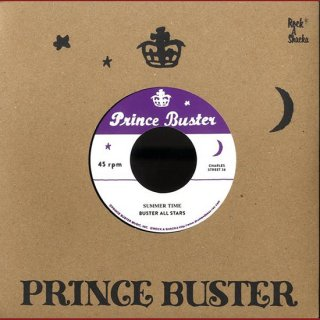 """7inch """"Buster All Stars """"Summer Time  / Hey Train"""