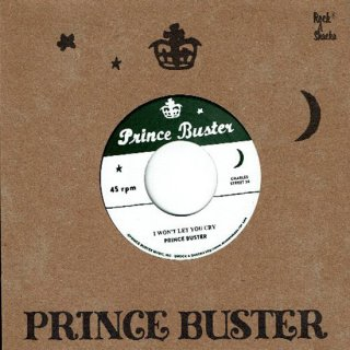 """7inch """"Prince Buster """"I Won't You Let You Cry  /  I'm Sorry"""