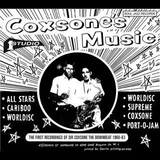 "LP ""Coxson's Music : First Recording Of Sir Coxsone The Downbeat 1960-62 A""2LP"