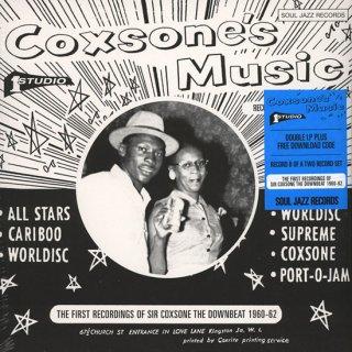 "LP ""Coxson's Music : First Recording Of Sir Coxsone The Downbeat 1960-62 B""2LP"