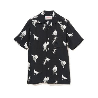 "Aloha Blossom "" Chiyonofuji "" Aloha Shirts / Black (10th Anniversary Limited Item)"