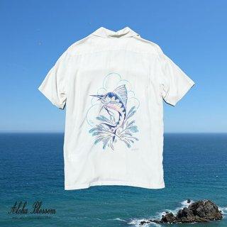 "Aloha Blossom "" Sordfish "" Aloha Shirts (10th Anniversary Limited Item)"