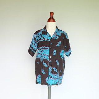 """Aloha Blossom """" Hiusikazura """" Kids Aloha Shirts"""