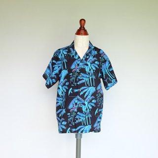 """Aloha Blossom """" Parm Tree """"  Kids Aloha Shirts"""