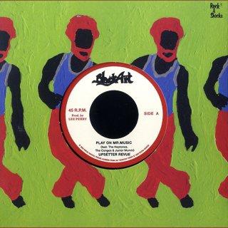 "7inch ""Upsetter Revue ""Play On Mr. Music  / ""The Silvertones""  Rejoice Jah Jah Children"