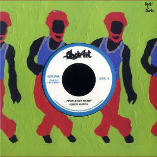 """7inch """"Junior Murvin"""" People Get Ready / """"The Upsetters """" Dub"""