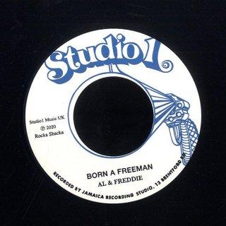 """7inch """"Al & Freddie """" Born A Freeman / """"Roy Richards"""" Dirty People"""