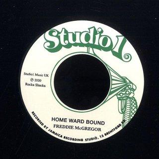 "7inch ""Freddie Mcgregor "" Home Ward Bound / ""Freddie & Brentford Rockers ""Dub"