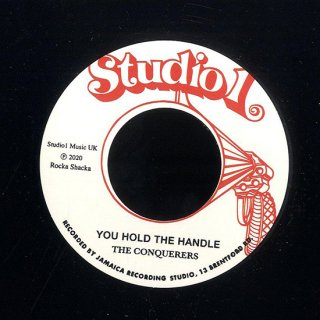 """7inch """"The Conquerers """" You Hold The Handle / """"Freedom Singers """"Black Is Black"""