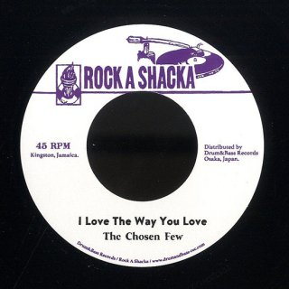 "7inch ""Chosen Few ""I Love The Way You Love"