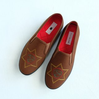 "Tomo&Co "" Far East Slipon WS"" brown"
