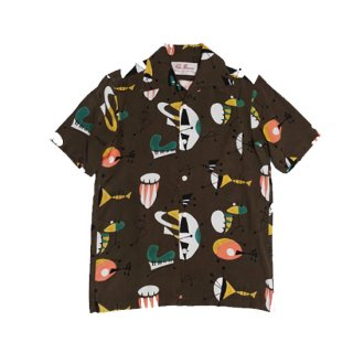"""Aloha Blossom """" Atomic SS""""  Alphonso Only Color Dark Brown"""