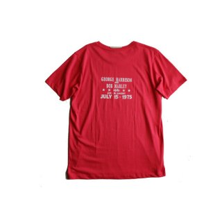 """Brown and Dennis """" George & Bob Tee """"  Red"""