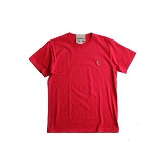 """Brown and Dennis """" Jah Lion EMB Tee """" Red"""