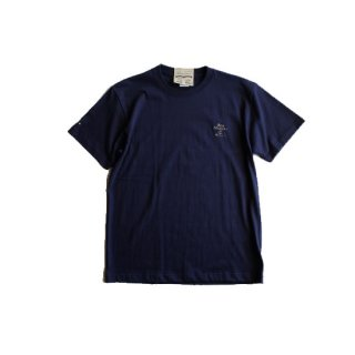 """Brown and Dennis """" BMW EMB Tee """" Navy"""