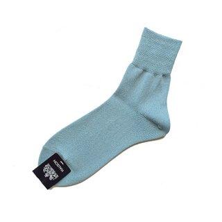 "Halison ""Washi Rayon Short Socks  "" Sax"