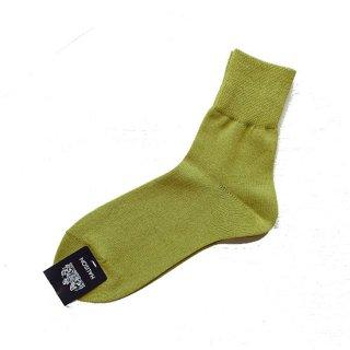 "Halison ""Washi Rayon Short Socks  "" Olive"