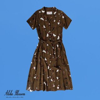 """Aloha Blossom """" King & Queen Dress"""" Alphonso Only Color Choco Brown"""