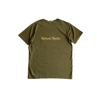 """Brown and Dennis """" Natural Mystic Tee """"  Olive"""