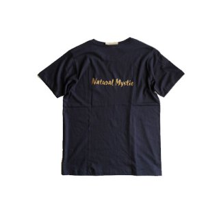 """Brown and Dennis """" Natural Mystic Tee """"  Navy"""