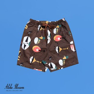 "Aloha Blossom "" Atomic Beach Shorts""  Alphonso limited Item"