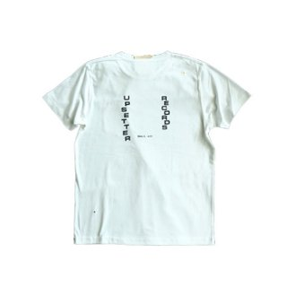 """Brown and Dennis """" Small Axe Pocket Tee """"  white"""