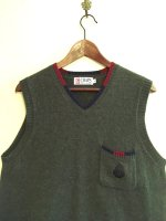 USED CHAPS RALPH LAUREN LIGHT WOOL VEST