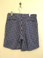 USED RALPH LAUREN OLDTYPE CHECK SHORTS