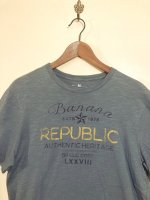 USED BANANA REPUBLIC OLD GRAPHIC LOGO TEE