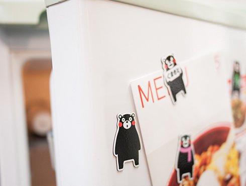 くまモン 冷蔵庫マグネット|10体セット