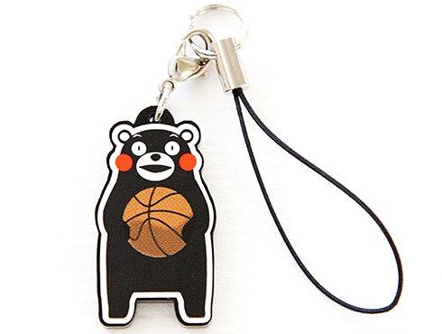 くまモンのストラップ|バスケットボール