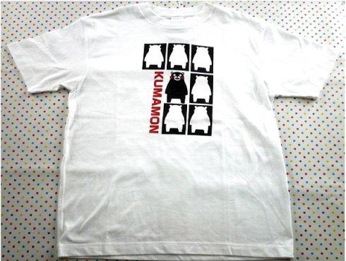 西口晴秀堂謹製 -  くまモンのTシャツ
