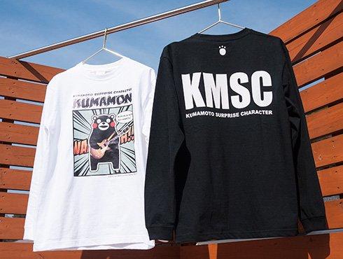 くまモンのロングTシャツ